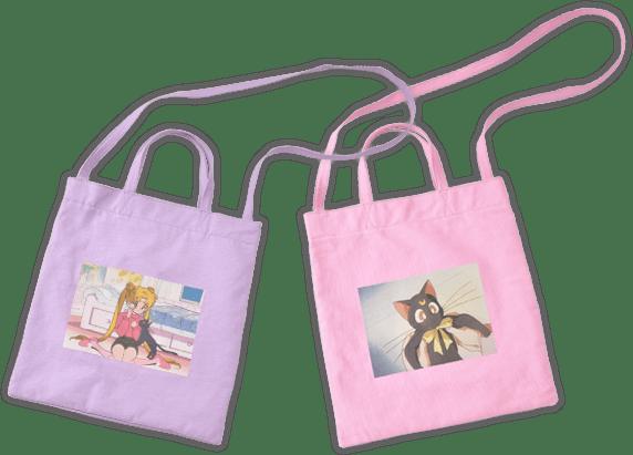 美少女戦士セーラームーンアニメシーントートバッグの画像