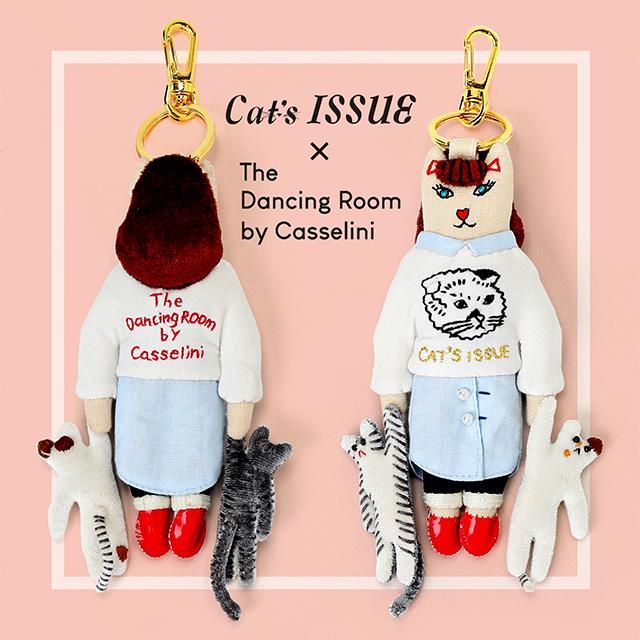 ×Cat's ISSUEチャーム