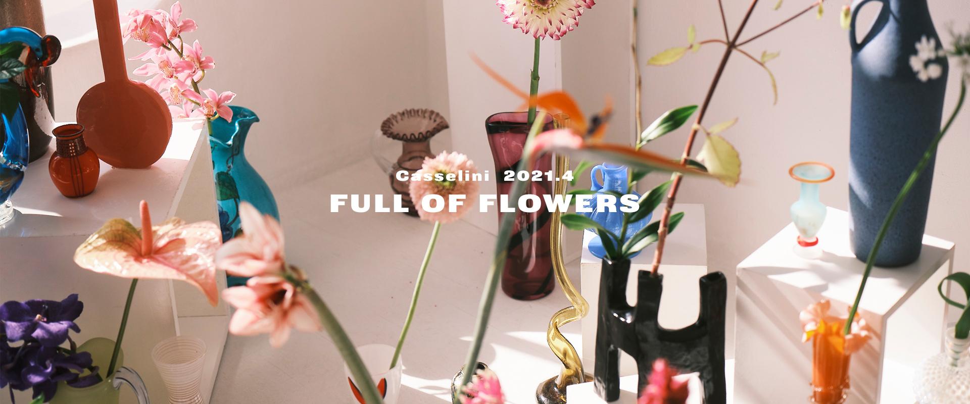FULL OF FLOWER
