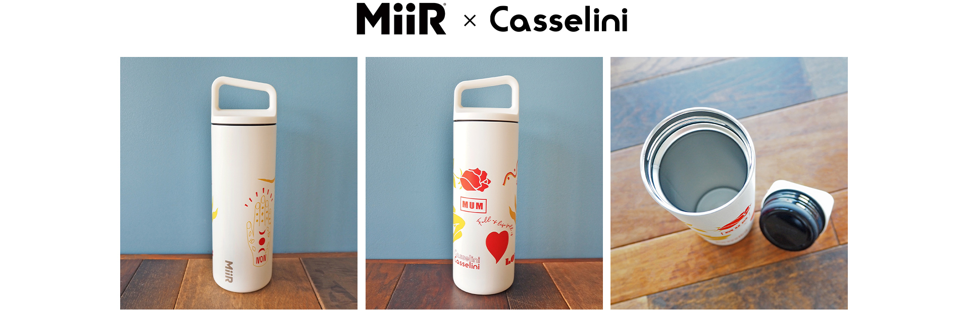 MiiR×Casselini