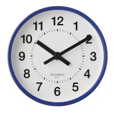 2 Way Clock|Blue