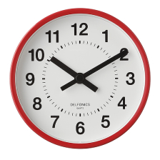 2 Way Clock|Red