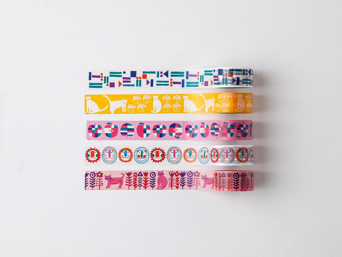 葵フーバー マスキングテープ