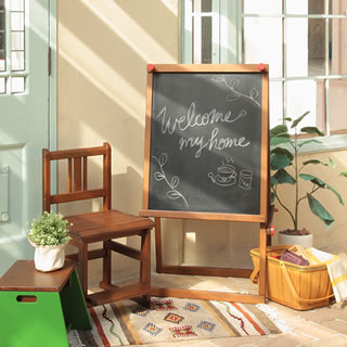 小学校をイメージした可愛いモチーフ noteco イーゼル
