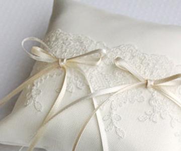 リングピロー〔ジュリア〕手作りキット|エレガントなチュールレースを使用|結婚式演出の手作りアイテム専門店B.G.