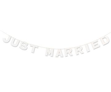 ペーパーガーランド〔ホワイト〕|JUSTMARRIED|結婚式演出の手作りアイテム専門店B.G.