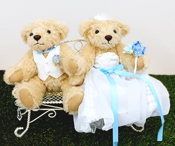 ドール用〔ラブチェア〕 |チェアの使用例|結婚式演出の手作りアイテム専門店B.G.