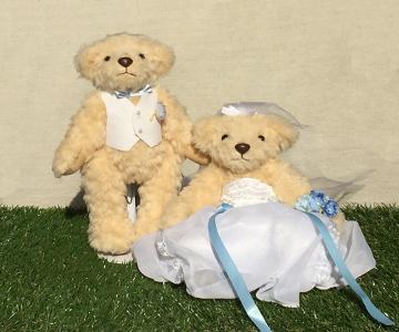 ドールスタンドS ドールスタンドSの使用例 結婚式演出の手作りアイテム専門店B.G.