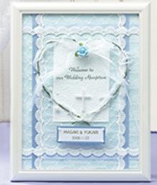 ウェルカムボード〔エンジェル・ブルー〕手作りキット|結婚式演出の手作りアイテム専門店B.G.