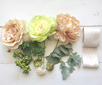 フラワーパーツ〔ナチュラルウエディング〕|大きくてボリューミーな花材|結婚式演出の手作りアイテム専門店B.G.