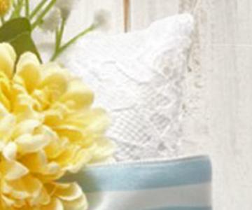 ウェルカムボード〔アジサイ・ピンク〕手作りキット|サテン生地の上にリバーレース|結婚式演出の手作りアイテム専門店B.G.