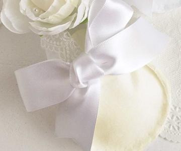 リングピロー〔ファーストステップ・ホワイト〕手作りキット|結婚式演出の手作りアイテム専門店B.G.
