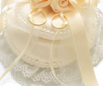 リングピロー〔スウィートローズ・サークル〕手作りキット|二段重ねでボリューミー|結婚式演出の手作りアイテム専門店B.G.