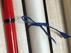 和紙のリボンカラー|結婚式演出の手作りアイテム専門店B.G.
