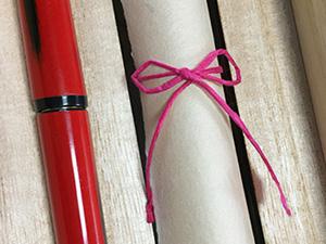 和紙のリボンカラーす|結婚式演出の手作りアイテム専門店B.G.