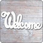 イニシャルカード〔Welcome〕