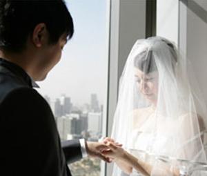 石渡さんの結婚式体験談|リングピロー〔洋風ハート〕手作りキットをプレゼント|結婚式演出の手作りアイテム専門店B.G.