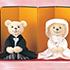 ウェルカムドール〔ベア洋装・ピンク〕手作りキット 安さんご夫婦が使用した熊のウェルカムドール 結婚式演出の手作りアイテム専門店B.G.