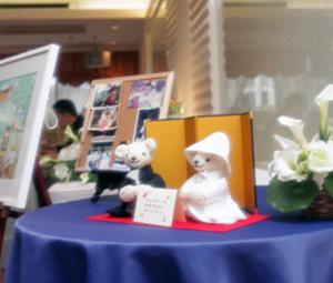 結婚式体験談その8-安さんの結婚式体験談 受付に飾る和装結婚式のウェルカムドール 結婚式演出の手作りアイテム専門店B.G.