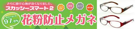 花粉防止メガネ スカッシースマート2